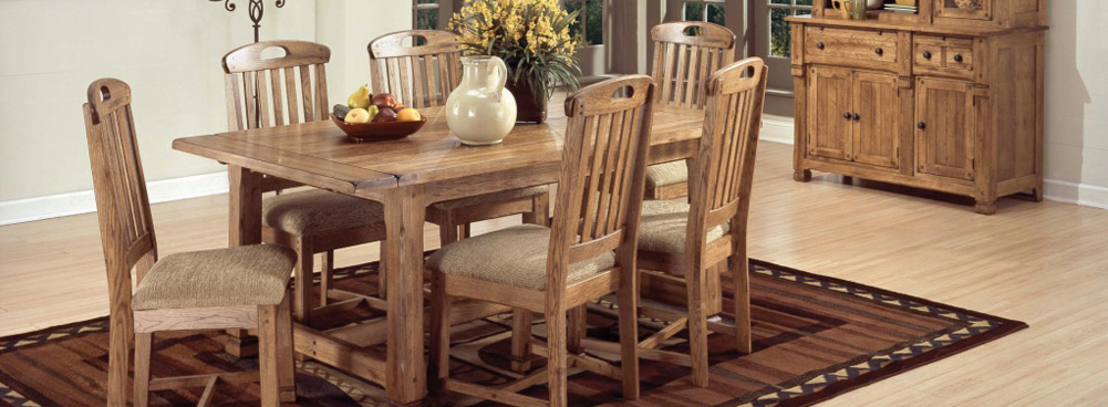 Wisconsin Wood Dining Room Sets